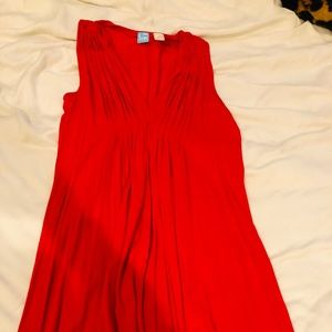Red Barney's Co-Op Jersey Sundress